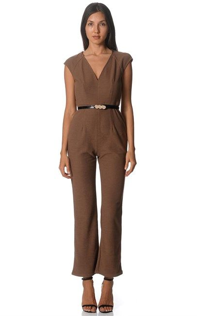 Brown Textured Pants by VOK. Price was $109 and is now $39. Shop at Ozsale.