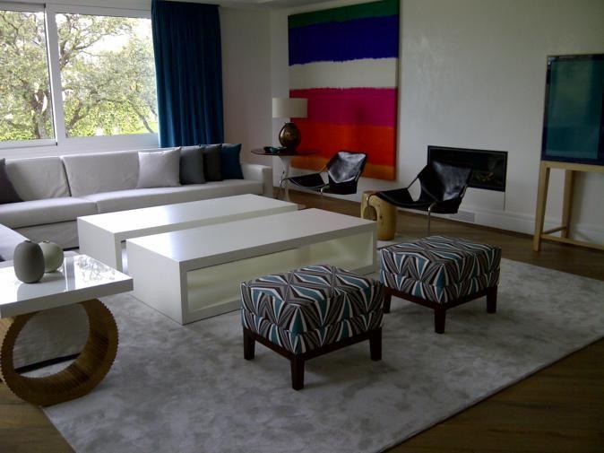 silk fabric cushions & panels