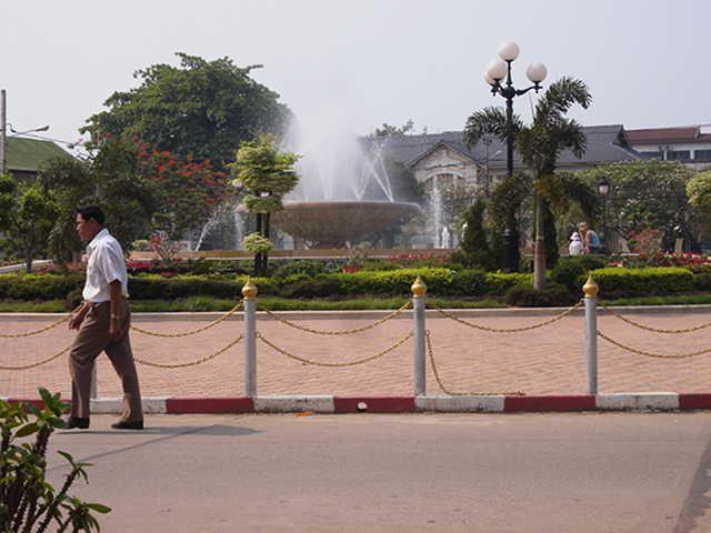 Vientiane park #Laos