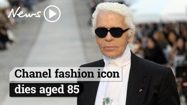 Fashion Genius Karl Lagerfeld Dead With Images Fashion Genius Karl Lagerfeld Chanel Fashion