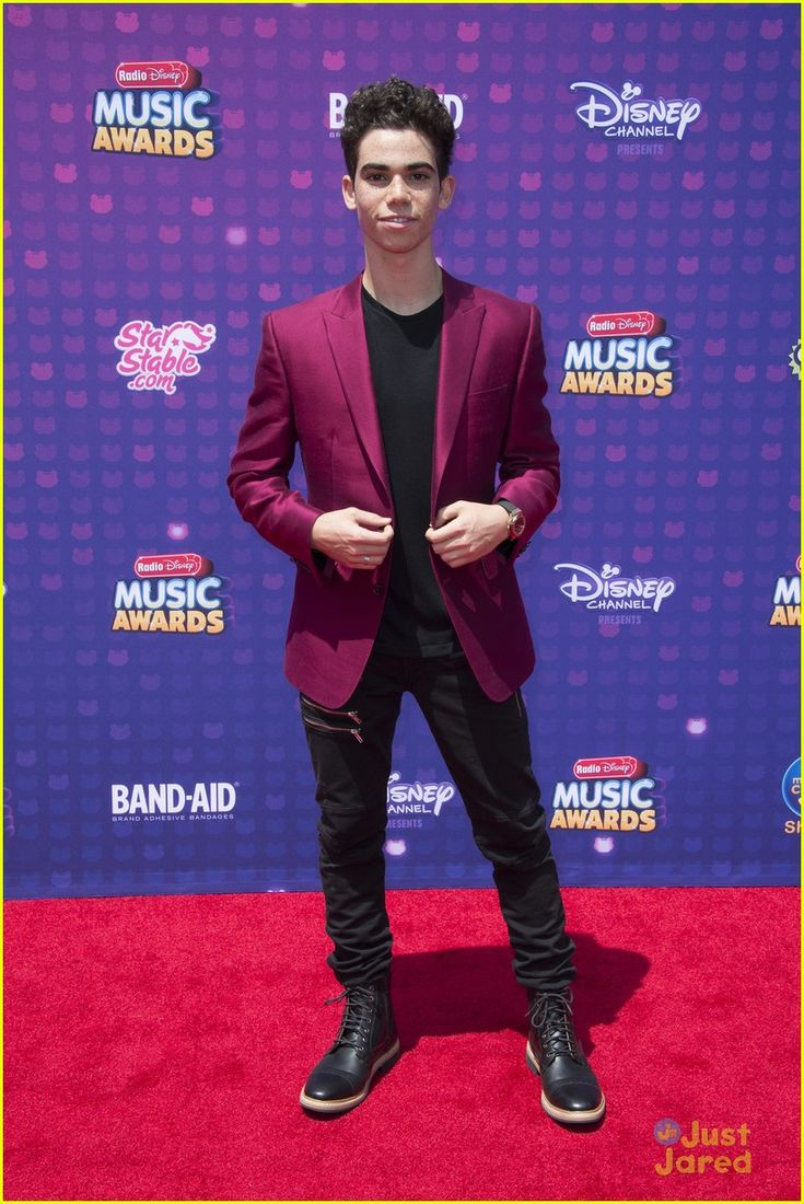 Cameron Boyce at the Radio Disney Music Awards 2016