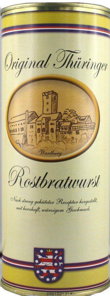 Original Thüringer Rostbratwurst in der Dose