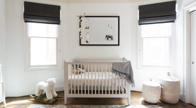 Mom and Dad wanted us to create a gender neutral nursery that could be used for either a boy or girl