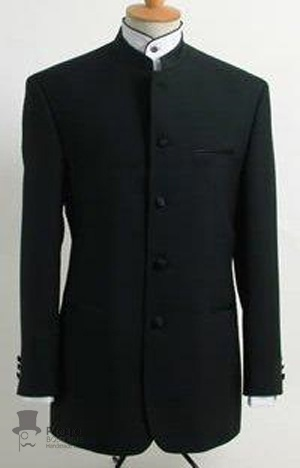 I always liked Mandarin collar suits. Can never remember that they are called mandarin collars.