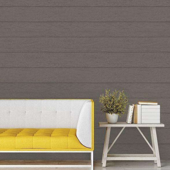Devine Color Textured Shiplap Brown Wallpaper Target Devine Color Textured Shiplap Brown Wallpaper Target Sour Brown Wallpaper Flat Paint Color Textures