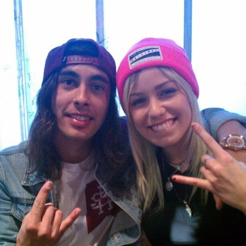 Vic Fuentes and Jenna McDougall