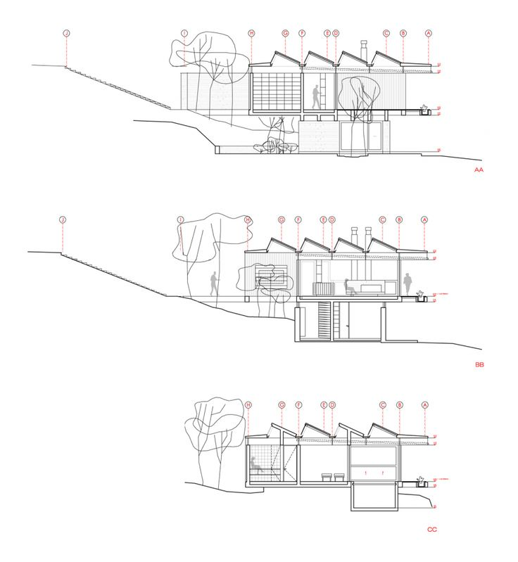 Modern Architecture Blueprints 446 best architecture: sections images on pinterest | arches