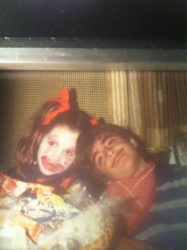 Founders Jenn and Chris. Halloween 1979