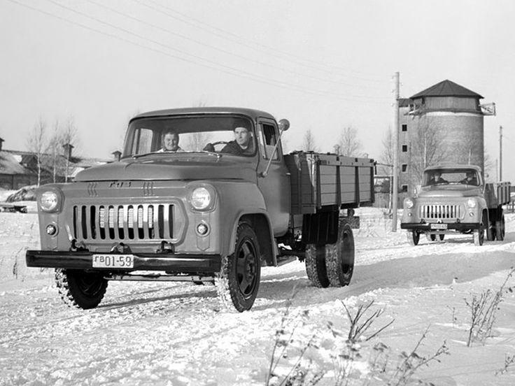 ГАЗ 56 Опытный (II серия) '1958–61