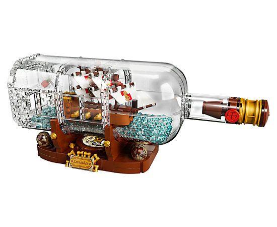 Ship in a Bottle - 21313 | Ideas | LEGO Shop