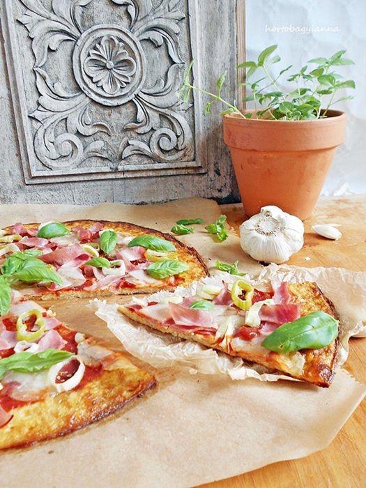 Kakukkfű: Karfiol pizza- szénhidrát csak mutatóban