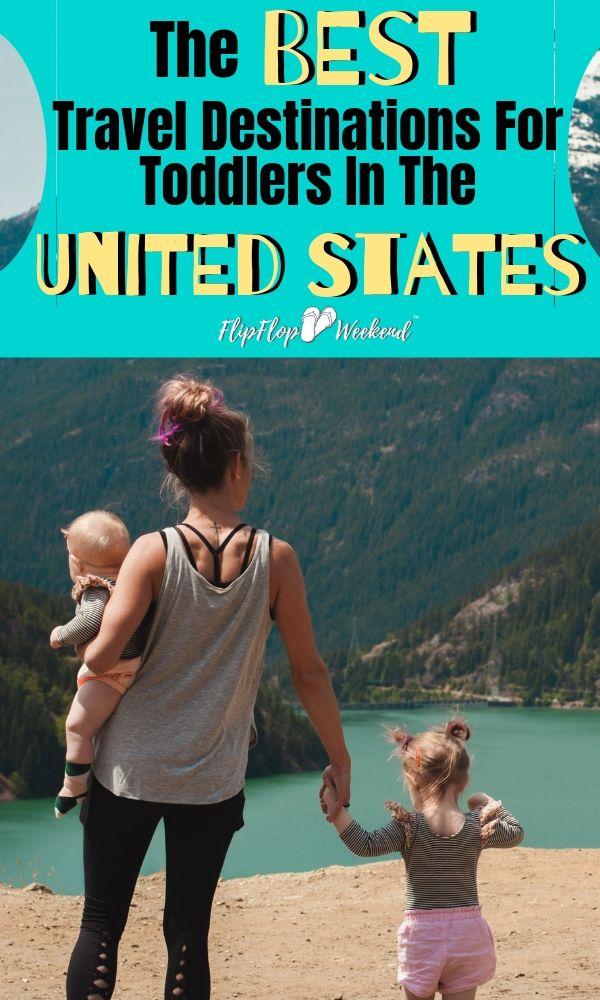 Los mejores destinos de viaje para niños pequeños