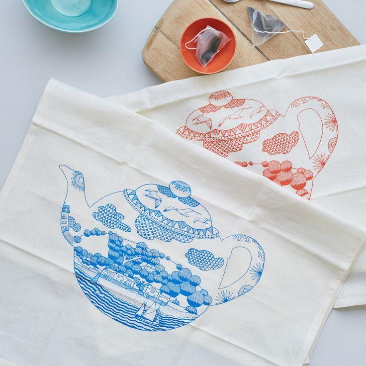 Safomasi - Cream Tea Towel