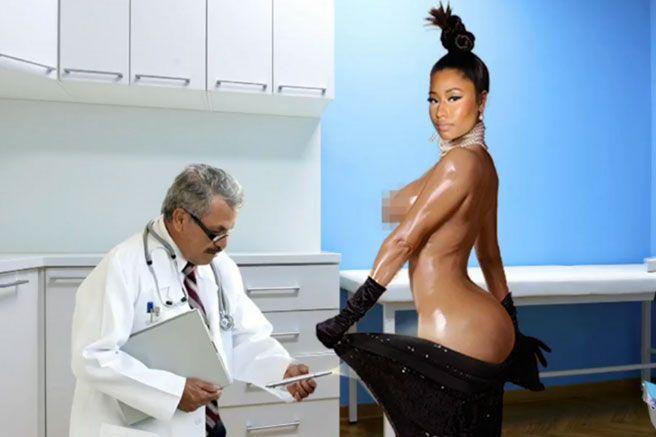 Nicki Minaj SNL Beyonce Kim Kardashian-Nicki Minaj James Franco SNL - Elle