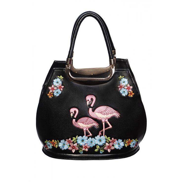 Flamingo Handbag! ❤️#shamorg #flamingopink