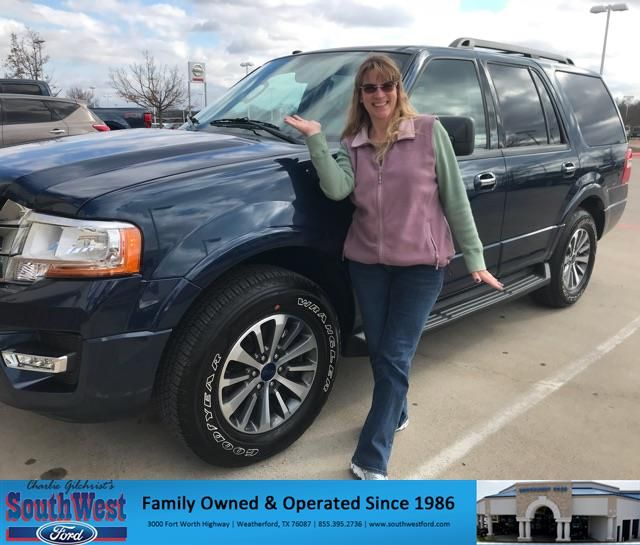 Congratulations Lori On Your Ford Expedition From Kat Brownlee At Southwest Ford Https Deliverymaxx Com Dealerreviews Asp Ford Customer Review Dealership