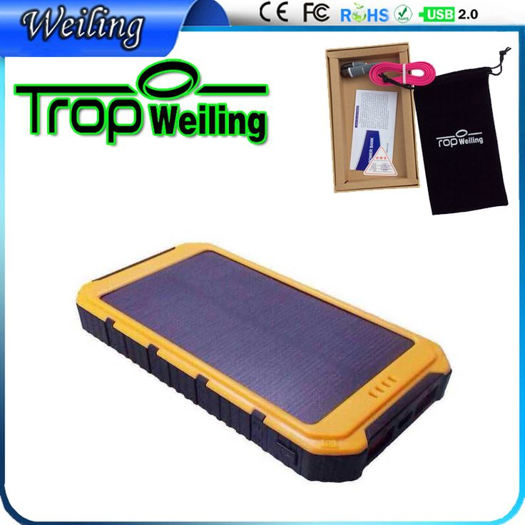 Tropweiling Solar 18650 power bank box 8000mah solar battery charger solar powerbank pover bank for all phones //Price: $US $17.13 & FREE Shipping //     #ipad