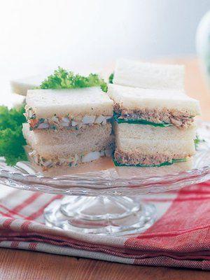 【ELLE a table】タプナードのサンドイッチ 2種レシピ|エル・オンライン
