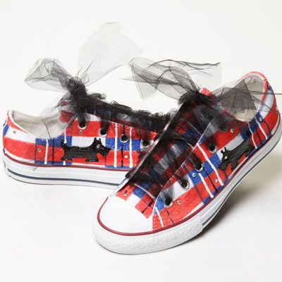 Cute shoes for the daughter
