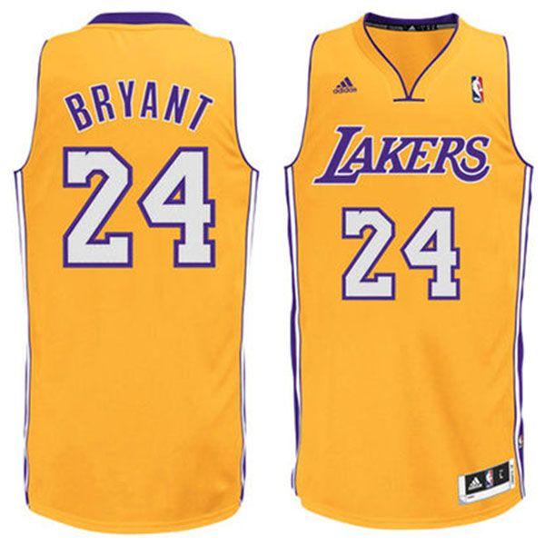 cfaccf88859 ... Kobe Bryant Jersey - Los Angeles Lakers Yellow 24 Basketball Jersey.  Stitched Los Angeles Lakers 16 Pau Gasol ...