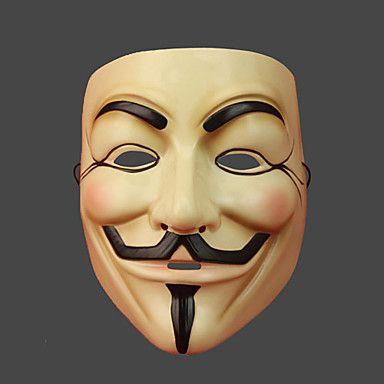 V for vendetta Costumes Mask – USD $ 13.99
