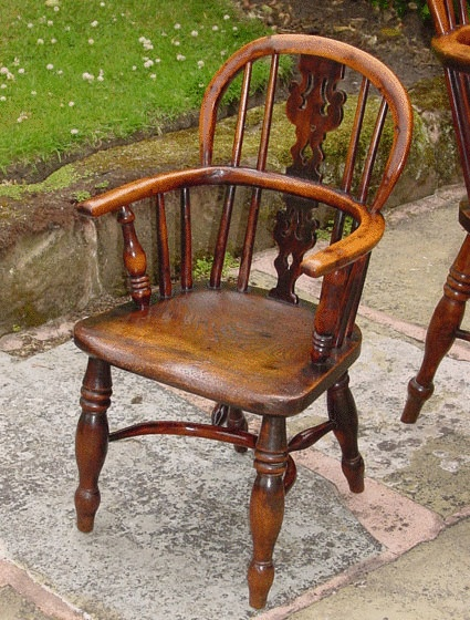 Antique Childs Windsor Chair, Yew Wood at Adams Antiques, in Nantwich,  England. - 12 Best Children Antique Furniture Images On Pinterest Antique