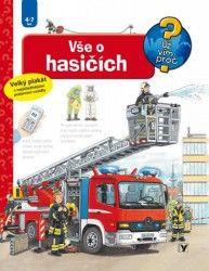 Co všechno musí znát hasič? Co potřebuje k hašení požáru? Co se děje na požární stanici a kde všude ještě hasiči pomáhají? A jak se zachovám při požáru já? Chytrá knížka pro malé děti. Dítě se nejen dozví odpovědi na řadu otázek, ale také získá návod, jak se chovat v nebezpečné situaci. Na několika stránkách mnoho informací podaných slovy, a především obrázky! Knížka vychází s velkým plakátem s nejdůležitějšími požárními vozidly. Je to čtení nejen pro kluky!