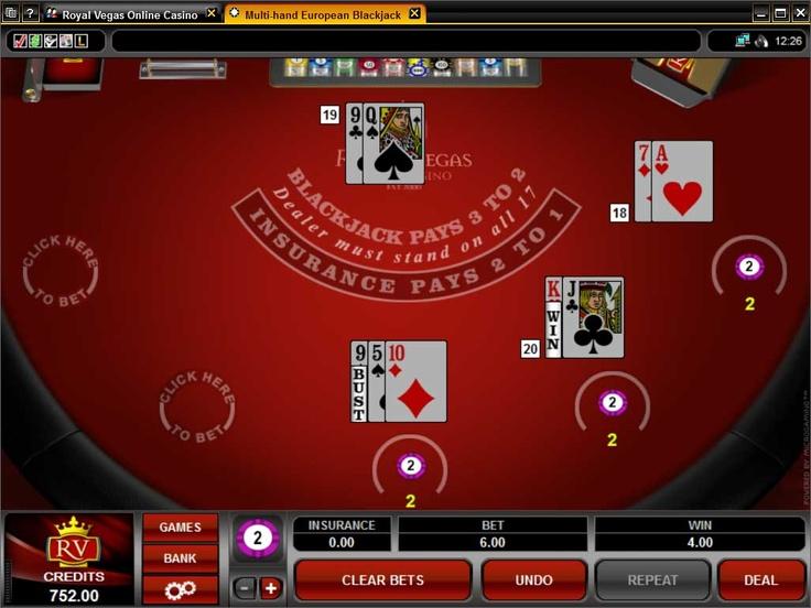 Blackjack   Royal-Vegas