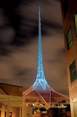 Spire on the Arts Centre, Melbourne       matt irwin