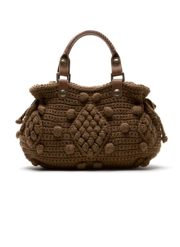 Gerard Darel Dublin knitted handbag. so Granny Chic!