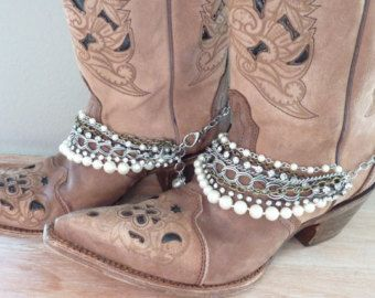 Cowboy Boot Bling. Boot Bracelet. Cowboy Boot Jewelry. Boot Jewelry. Country. Western Appearl. Country Western. Cowboy Accessories.