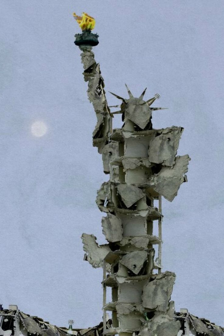 Un artista sirio recrea el conflicto de su país con escombros y arte occidental