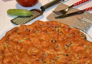 Torta+salata+mortadella,+pomodoro+e+origano