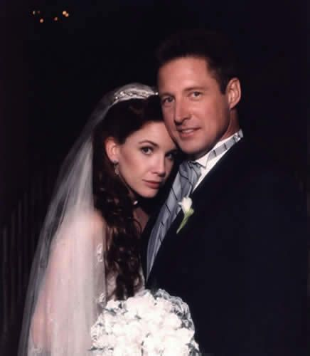 Melissa Gilbert and Bruce Boxleitner -- I was so sad when he married her.