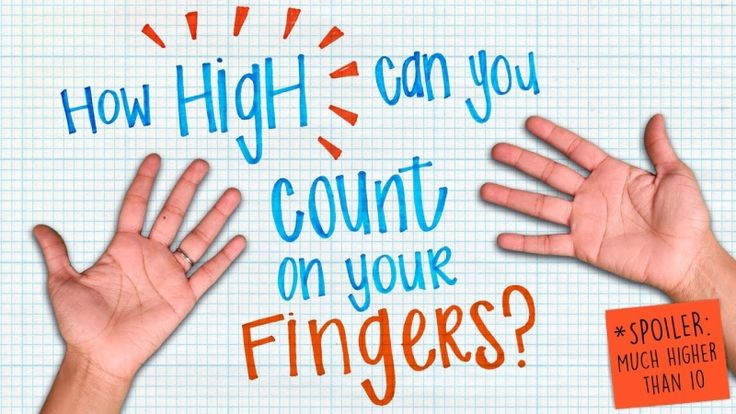 How high can you count on your fingers? - James Tanton
