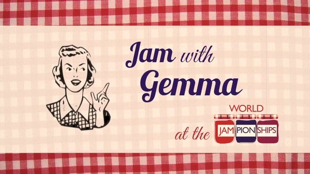 Episode Four - Gemma The Jam Bakes A Gorgeous Cake by Keathbank Media. Our very own Gemma The Jam has lots of lovely jam left over so decides to bake a delicious victoria sponge!  If youd like the full recipe for this visit http://www.worldjampionships.com and click through to recipes! We have lots of ideas for cooking with jam. We advise a little less gin than Gemma is used to!