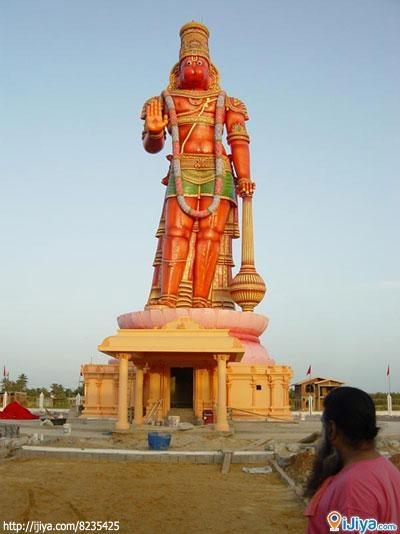 Karya Siddhi Hanuman statue, Trinidad.  @ http://ijiya.com/8235425
