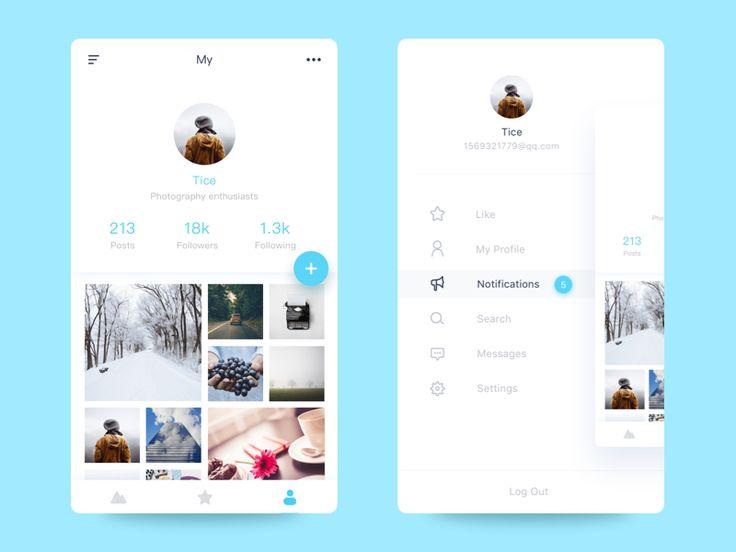 New App by Tice #Design Popular #Dribbble #shots