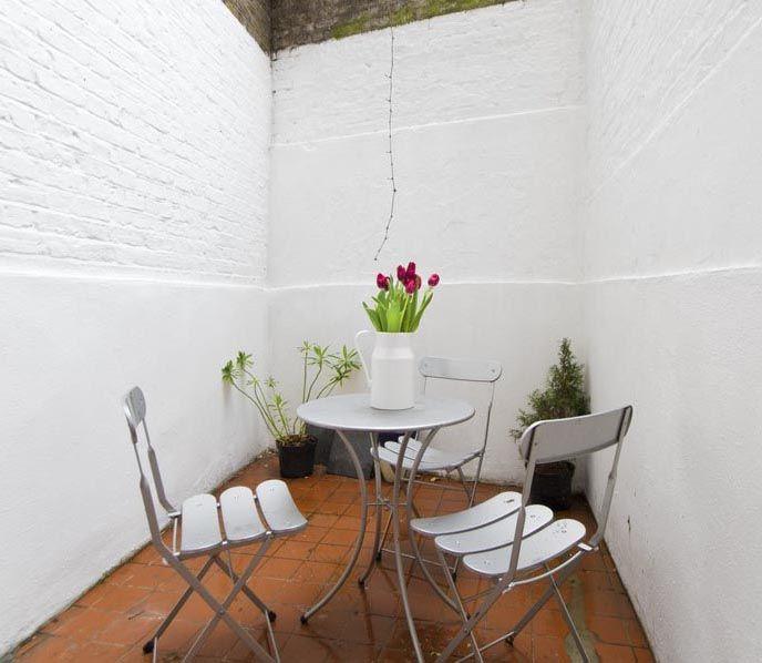 Courtyard basement flat London SW10 Cutler and Bond