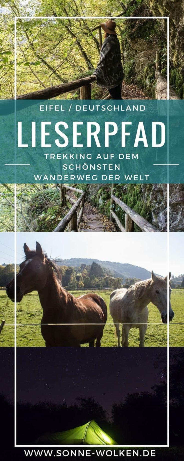 Lieserpfad – Trekking auf dem schönsten Wanderweg der Welt – Heike Ritter