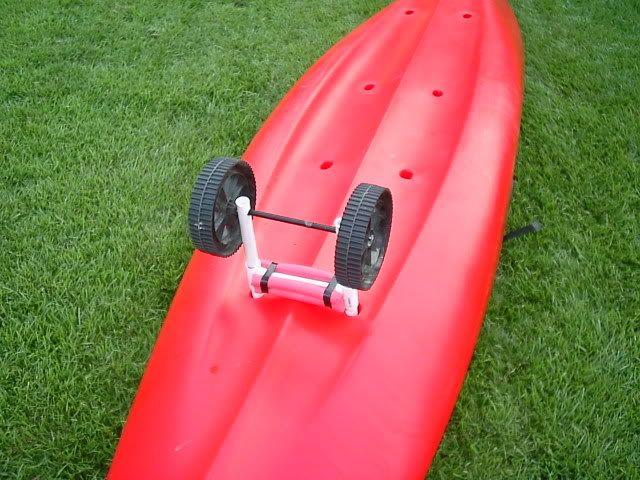 Diy kayak cart kayak fishing pinterest kayak cart for Homemade fishing cart
