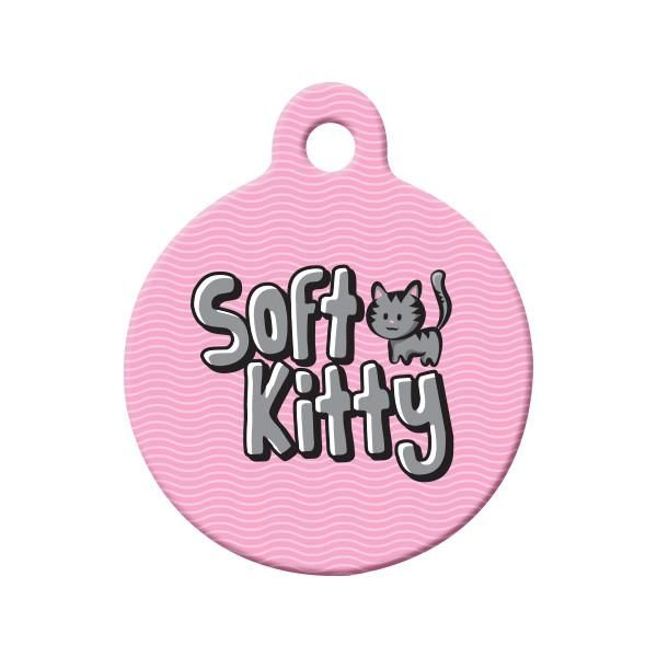 Soft Kitty Cat Tag - If you're a Big Bang Theory fan, then you know all about Soft Kitty.
