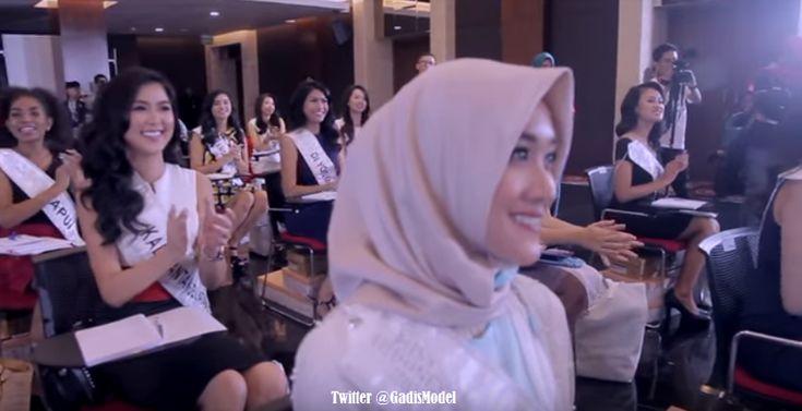 Foto Gadis di Ajang Miss Indonesia 2018