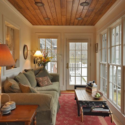 30 best images about sunroom office on pinterest 3 Cottage porch decorating ideas