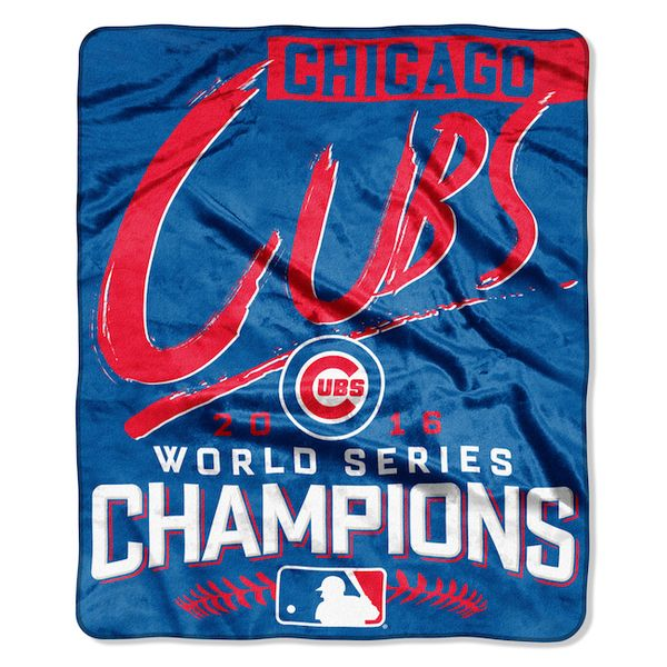 Chicago Cubs 2016 World Series Champions 50″ x 60″ Silk Touch Throw  #ChicagoCubs #Cubs #FlyTheW #MLB #ThatsCub