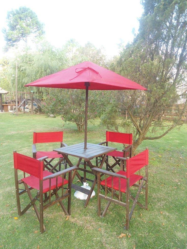 22 best images about mesas y sillas de patio jard n y for Mesas para patio