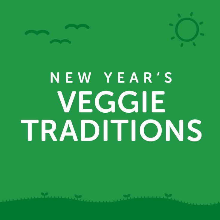 All around the world, people eat veggies on New Year's Eve. Get some Vegolution inspiration by finding out how other cultures ring in the new year, and then try some recipes of your own.