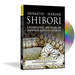 Finally, it's here!  This DVD is a visual feast of 400 years of Shibori fabrics and techniques in the Japanese villages of Narumi And Arimatsu.