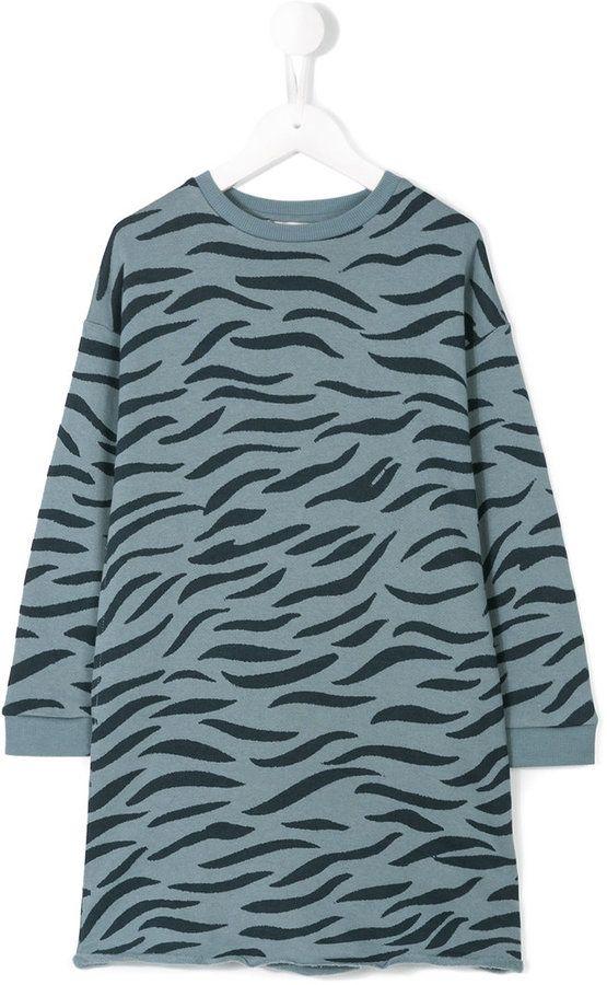 Stella McCartney Leona tiger print dress