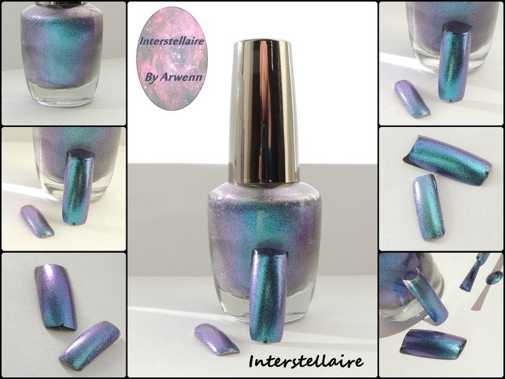 Interstellaire, By Arwenn Multichrome nail polish